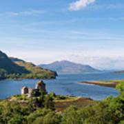 76. Eilean Donan Castle, Scotland Art Print