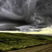 Storm Clouds Saskatchewan Art Print