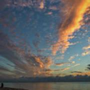 7972- Miami Beach Sunrise Art Print