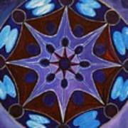 7th Mandala - Crown Chakra Art Print