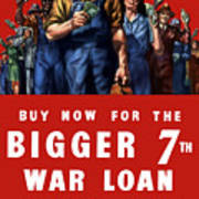 7th War Loan - Ww2 Art Print