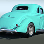1936 Ford Coupe Art Print