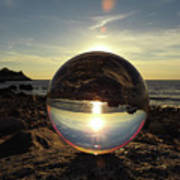 8-25-16--5717 Don't Drop The Crystal Ball, Crystal Ball Photography Art Print