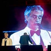 Andrea Bocelli In Concert Art Print