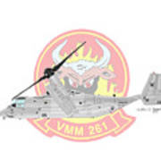 Bell Boeing Mv-22b Osprey Art Print