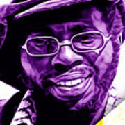 Curtis Mayfield Collection Art Print