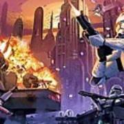 Imperial Star Wars Poster Art Print