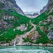 Inside Passage Mountain Views Around Ketchikan Alaska Art Print