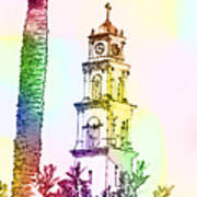 Jaffa, St Peter Church And Monastery Art Print