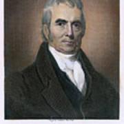 John Marshall (1755-1835) Art Print by Granger