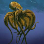 8 Legs Of The Sea Art Print