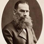 Leo Tolstoy (1828-1910) Art Print