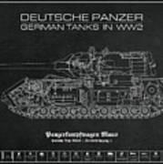 Panzerkampfwagen Maus Art Print
