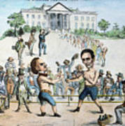 Presidential Campaign, 1860 Art Print