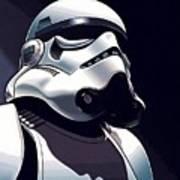 Star Wars The Trilogy Poster Art Print