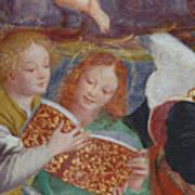 The Concert Of Angels Art Print