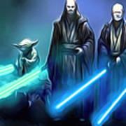 The Star Wars Poster Art Print