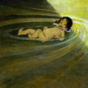 The Water Babies Art Print