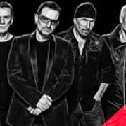 U2 Collection Art Print