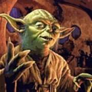 Video Star Wars Art Art Print