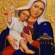 Virgin And Child Painting Religious Art Art Print