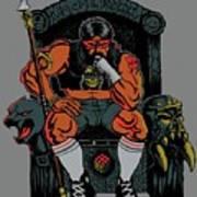 80's King Art Print
