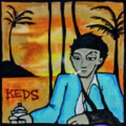 8303-2-  Little Havana Mural Art Print