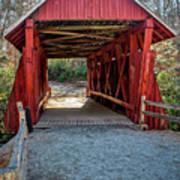 8350- Campbell's Covered Bridge Art Print