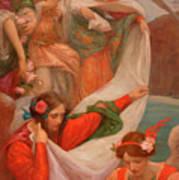 Angels Descending Art Print