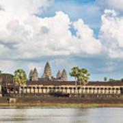 Angkor Wat In Cambodia Art Print