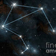 Artists Depiction Of The Constellation Art Print