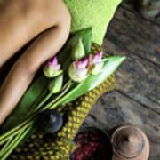 Asian Massage Spa Natural Organic Beauty Treatment Art Print