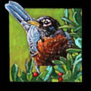 Birdman Of Alcatraz Detail Art Print