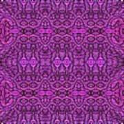 Purple Shade Art Print