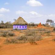 Farmland Landscape In Ethiopia Art Print