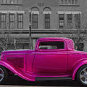 Ford Hot Rod Art Print