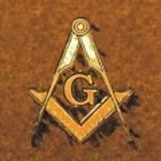 Freemason, Mason, Masonic Symbolism Art Print