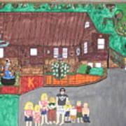 9 Grand Kids Art Print