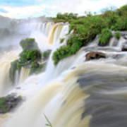 Iguazu Waterfalls Art Print