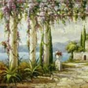 Italian Historical Villas Art Print