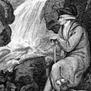 Jean Jacques Rousseau Art Print