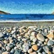 Livada Beach  Art Print