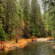 Merced River Yosemite Valley Art Print