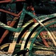 9 Million Bicycles  Art Print