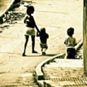 Neighborhood Children Art Print