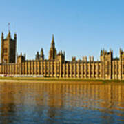 Palace Of Westminster, Houses Of Parliament, And Big Ben Art Print