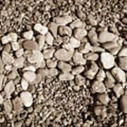 Pebbles 1 Art Print