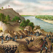 Siege Of Vicksburg, 1863 Art Print