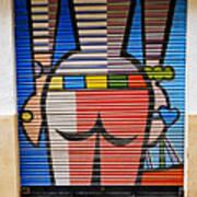 Street Art In Palma Majorca Spain Art Print