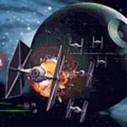 Trilogy Star Wars Art Art Print